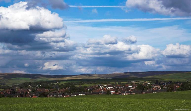Windy Hill Mast from Thornham