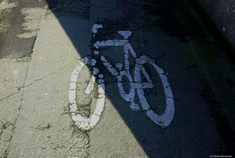 Faded stencil