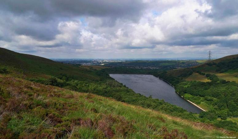 Walkerwood reservoir in Millbrook, Stalybridge