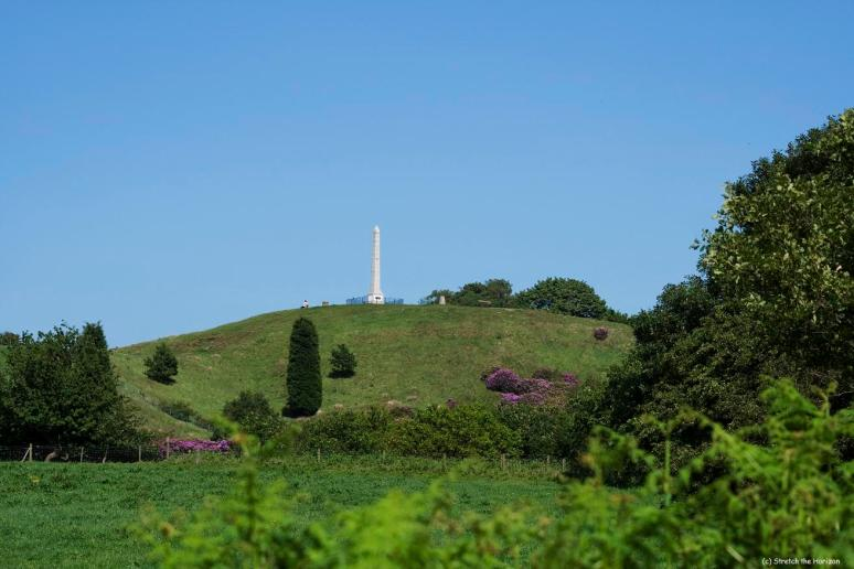 Tandle hills Monument from Jarrod Woods - Copy