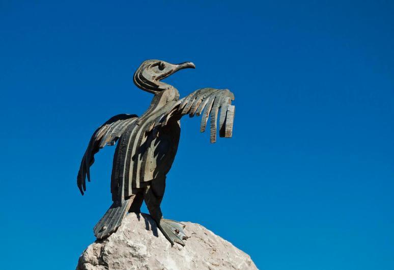 Cast-iron Cormorant
